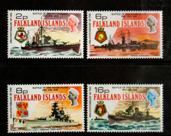 Falkland Islands, Scott 237-240